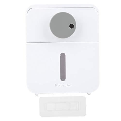 Alvinlite Dispensador de Papel higiénico con Soporte para Papel higiénico con Estante Superior, cajón, Caja de pañuelos para baño, Inodoro