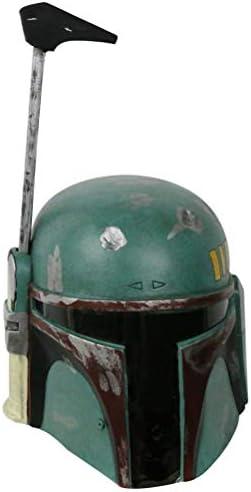 Mandalorian Helmet Boba Fett Helmet Adult Kids Latex Full Face Deluxe Mandalorian Costume Helmet product image
