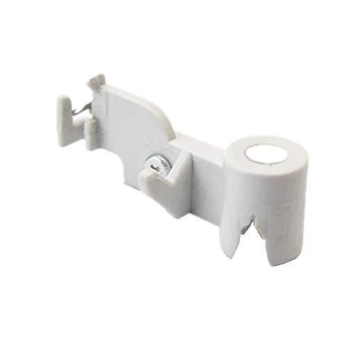 BLTR Coser Accsesories enhebrador Plate Fácil de Usar (Color : White)