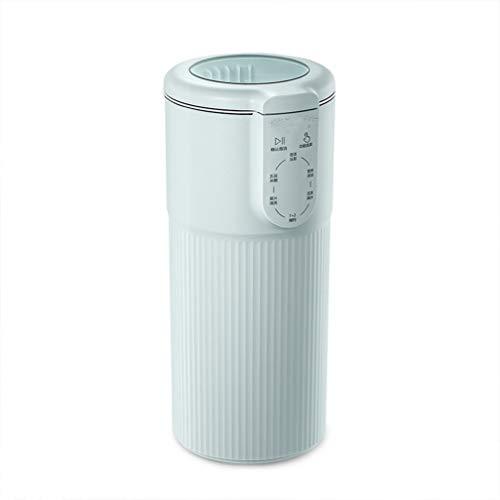 300ml Sojamilch Maschine Mini tragbare Soja-Milch-Hersteller Entsafter Maschine Haushalt Entsafter Soyamilchhersteller Orangenpresse Smoothie (Color : Green, Size : US plug)