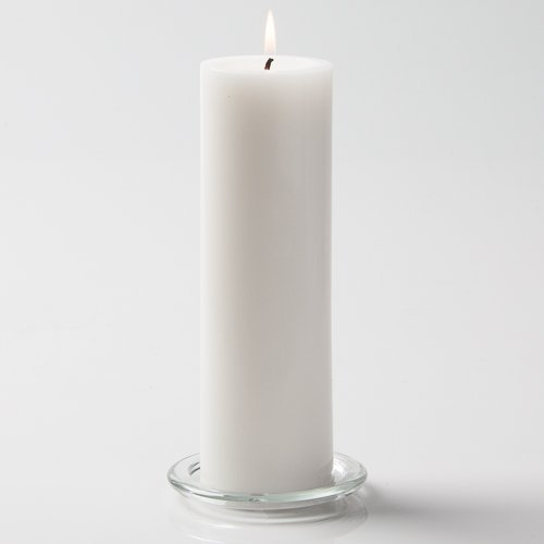 Richland 3' X 9' Hand Poured White Pillar Candle