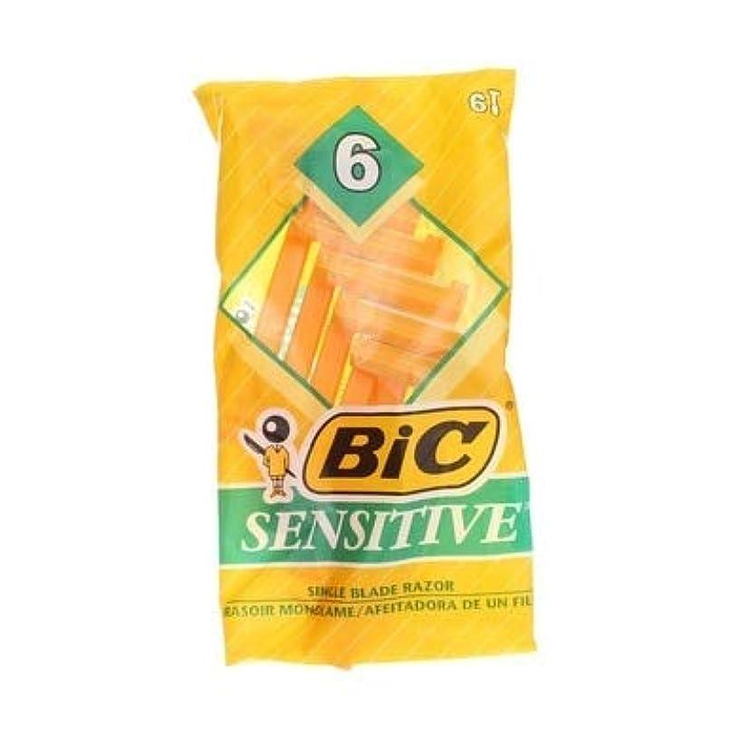 フォーマット意図いじめっ子BIC 機密性の高い使い捨てシェーバー - 6 CT、4パック