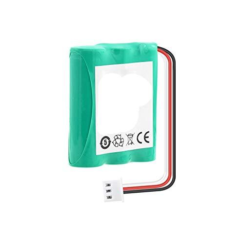 HTRN Batería De Litio De 3.7v 3100mah, con Dos Cables para Linterna Radio Mini Ventilador 18650 Batería De Repuesto De Iones De Litio 2pieces