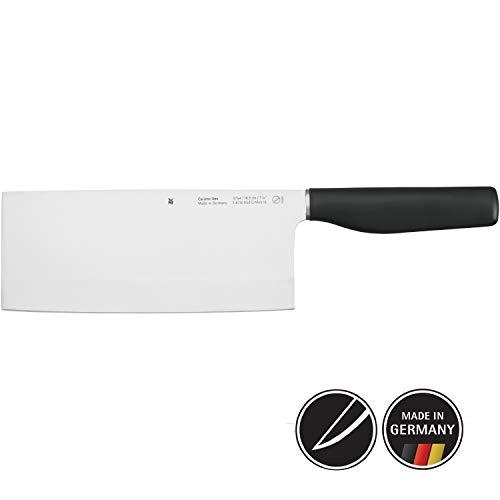 WMF Cuisine One Chinees koksmes, 32 cm, gesmeed, speciaal gehard staal, Performance Cut, kunststof handvat, lemmet, 18,5 cm