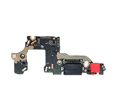MOLIBAIHUO Compatible con Huawei P8 P9 P10 Lite Plus P8 Lite 2017 Cargador Puerto de Carga Dock Conector USB Datos Flex Cable Auriculares Jack Flex Ribbon Flex Cable (Color : For P10 Plus)
