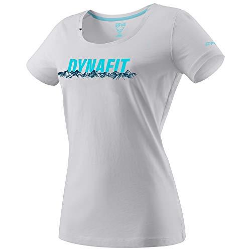 Graphic Cotton S/S Tee (Women) - Dynafit, Groesse-Dynafit:42/36, Farbe-Dynafit:nimbus/8210/skyline
