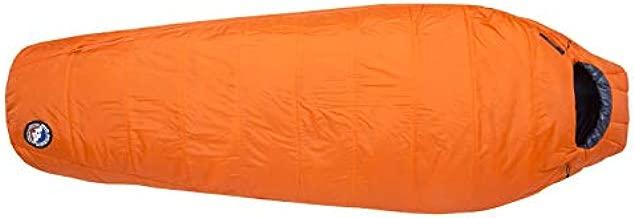 Big Agnes Lost Dog 15 (FireLine Eco) Sleeping Bag, Regular, Right Zip, Orange/Navy