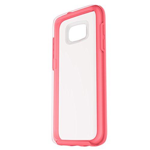 OtterBox Symmetry sturzsichere Schutzhülle für Samsung Galaxy S7, rosa/transparent