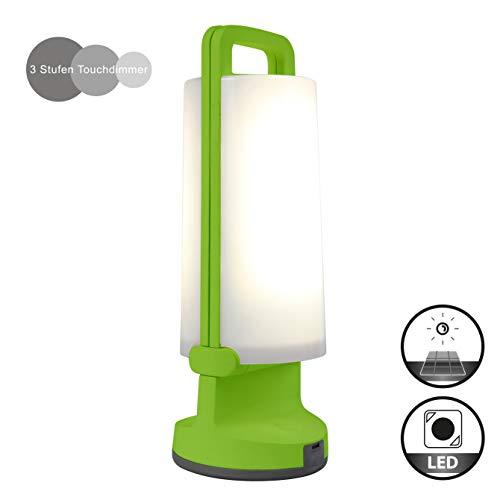 Eco-Light Solar-Leuchte Dragonfly mit Solarpanel und USB Ladefunktion, tragbar für viele Verwendungszwecke Z.B. Gartenparty, Festbeleuchtung, Wegelicht oder zur sommerlichen Atmosphäre IP54