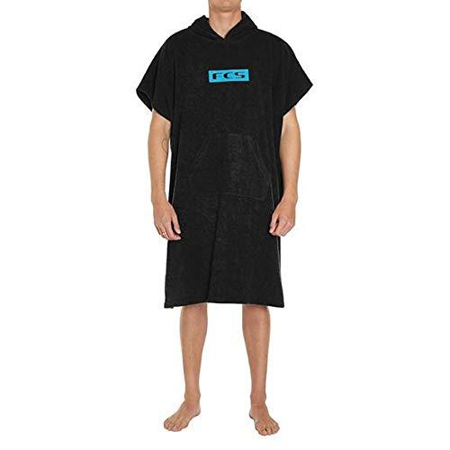 FCS Towel Poncho - Black