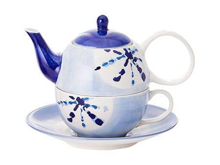 Cha Cult Darrell - Juego de té (4 piezas, jarra de 0,4 l, taza de 0,2 L)