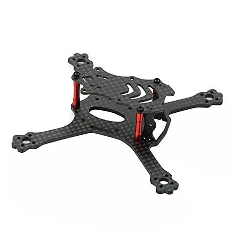 DingPeng 3K Fibra di Carbonio 110mm Integrale Telaio da Corsa Telaio Freestyle Stretch x Telaio Kit per FPV Racing Drone Quadcopter Accessori Ricambi