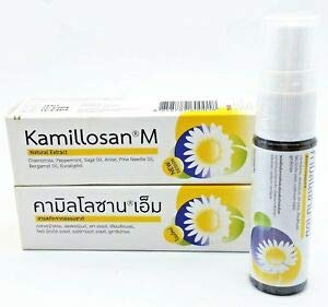 2 PCS X KAMILLOSAN M SPRAY (ANTI BACTERIA SORE THROAT & TONSIL)
