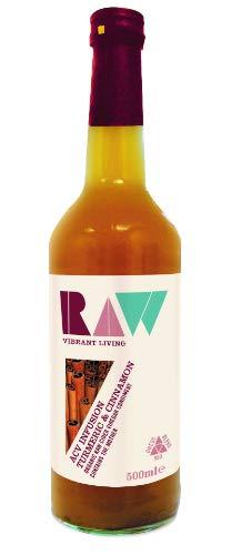 Raw Health | Raw Organic Acv Infusion - Turmeric & Cinnamon | 8 x 500ml