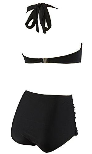Aloha-Beachwear Damen Bikini A1020 Schwarz Gr. 44 - 3