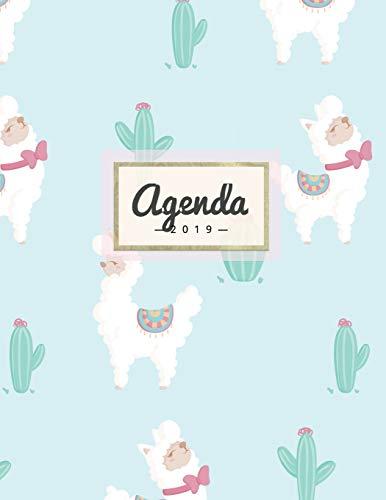 Agenda 2019: Semanal Diario Organizador Calendario - Linda Alpaca