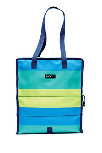 Packit 2000 – 0061 Shopping Borsa Termica Fresh Stripes, Acrilico, Multicolore, 11 x 19 x 16 cm