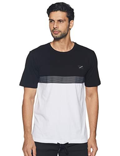Antony Morato T-Shirt Bi-Color con Nastro Rigato Camiseta de Tirantes para Hombre