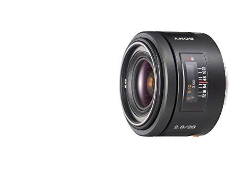 Sony SAL-20F28, Ultra-Weitwinkel-Objektiv (20 mm, F2,8, A-Mount Vollformat, geeignet für A99, A77, A68 Serie)