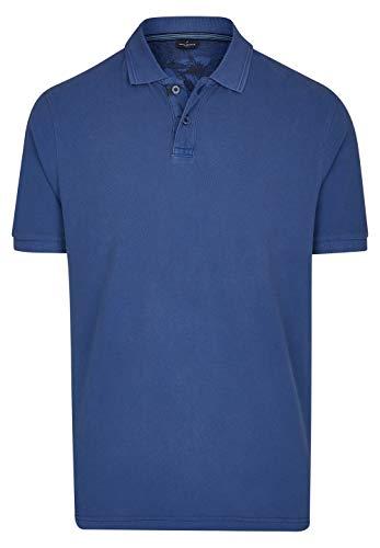 Daniel Hechter Herren Polo-Shirt mit Struktur-Kragen