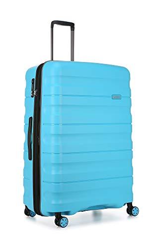 Antler - Juno 2.0 Large 80.5cm Hardside 4 Wheel Suitcase - Turquoise