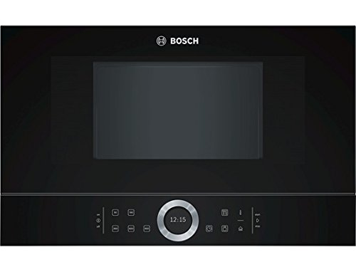 Micro ondes Encastrable Bosch BFL634GB1 - Micro-Ondes Intégrable Noir - 21 litres - 900 W
