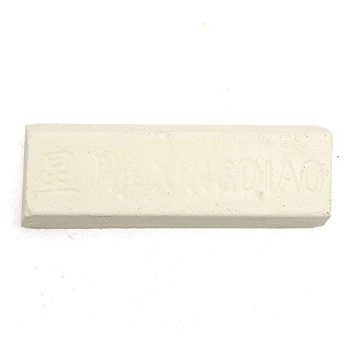 Hitommy Rouge schurende polijsten plakken Buffing samengestelde metalen slijpen 1053523mm Kleur: wit
