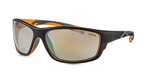 Filtral Sportbrille/Verspiegelte Sport-Sonnenbrille für Herren aus nachhaltigem Kunststoff F3076021