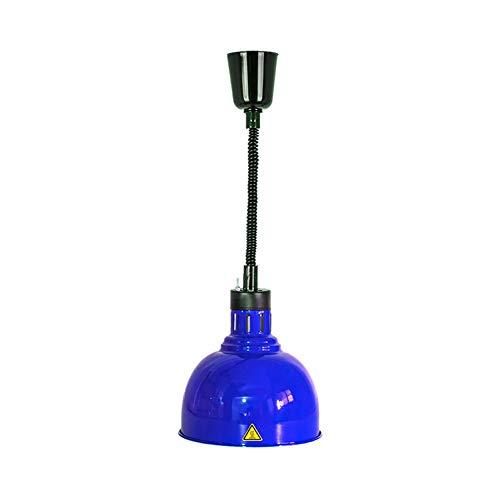 XER telescopische warmtehanglamp, lampenkap van metaal, verwarming van levensmiddelen, 250 W infraroodlamp, voor keuken, restaurant