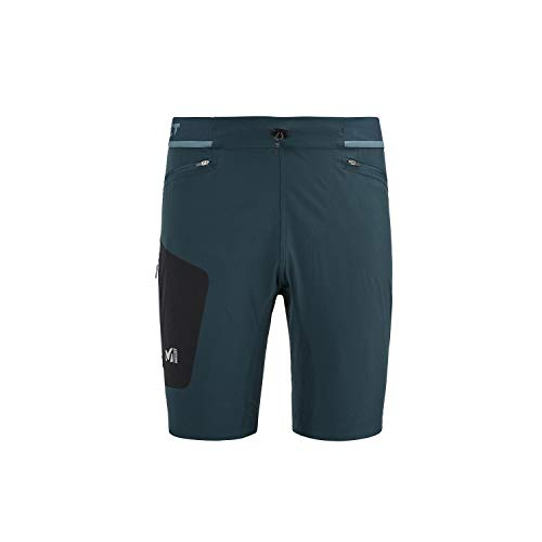 MILLET Ltk Speed Long Short Randonnée, Trail Running, Trekking Homme, Orion Blue, L