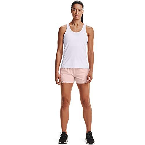 Under Armour 1344552-659_S Pantalones Cortos, Pink, Mujeres