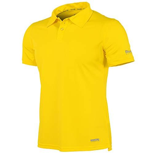 Reece Hockey Darwin ClimaTec Polo Unisex - Sun Yellow, Größe Reece:XL