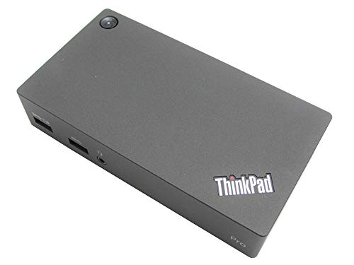 Lenovo 40A70045UK ThinkPad USB 3.0 Pro Dock (Certified Refurbished)