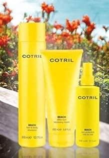 Cotril Beach Kit contenente: Shampoo Hair & Body 300ml, Maschera Capelli istantanea agisce in 1 minuto 200ml, spray protettivo 15 in uno