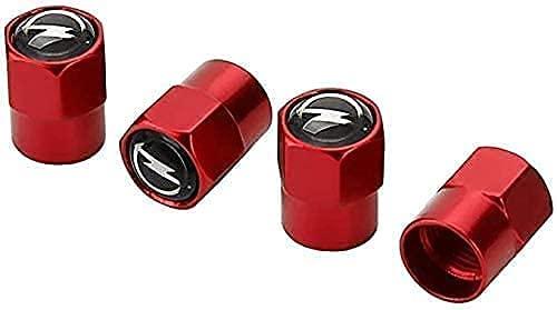 4 Stück Auto-Reifen Ventilkappen für Opel Insignia Astra Corsa Mokka, Mit Emblem Wasserdicht Staubdicht Luftabdeckung Luftventilkappen, Auto DekorationszubehöR