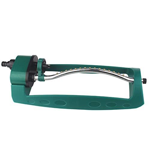 Eliky Plastic Automatische sproeier, metalen basis, onverwoestbare oscillerende sproeier, tuingereedschap, irrigatiesysteem voor tuin, gazon, binnenplaats
