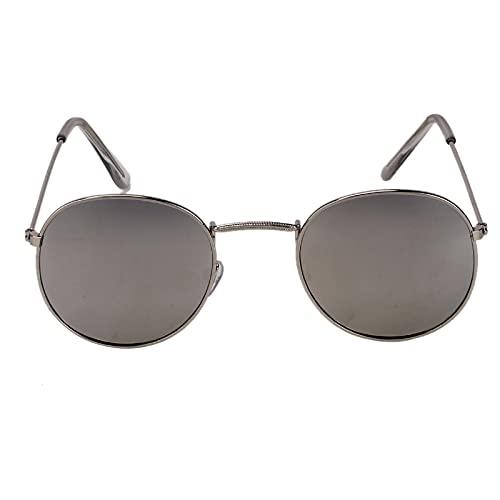 Gafas De Sol Gafas Anti Luz Azul, Gafas Ópticas Retro Vintage, Gafas De Metal con Polígono Retro, Anti Unisex, Gafas De Sol De Moda Style4