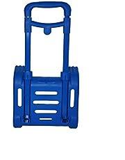 Carro Plegable para Mochila Escolar (Azul Neon)