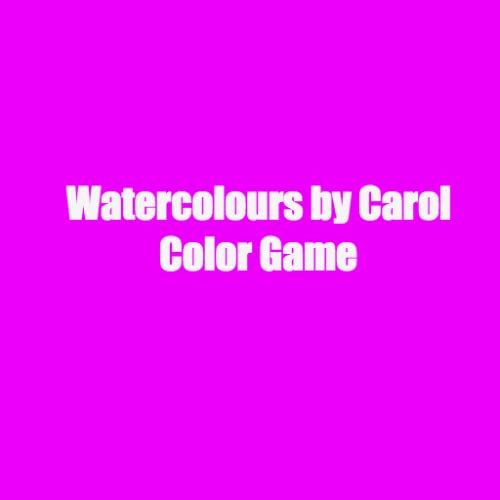 Watercolours by Carol Color Game