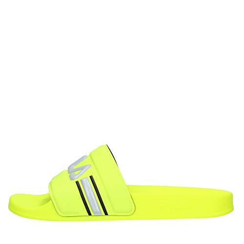 FILA Oceano Neon wmn Damen Slipper, Gelb (Neon Lime), 37 EU