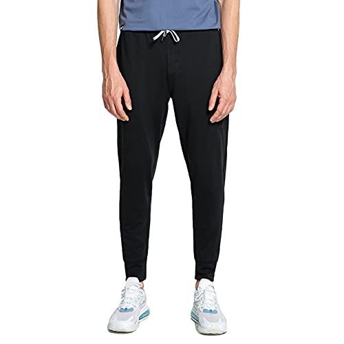 pantofole uomo quadri MaaMgic Pantalone Sportivo Uomo Jogger da Ginnastica con Coulisse e Tasche Slim Fit per Allenamento