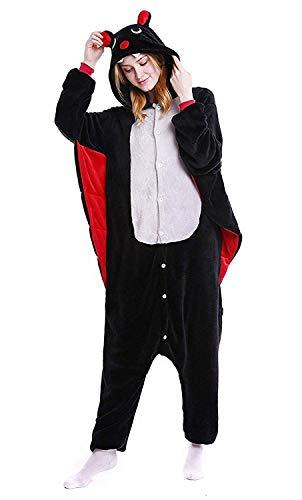 ABYED® Kostüm Jumpsuit Onesie Tier Fasching Karneval Halloween kostüm Erwachsene Unisex Cosplay Schlafanzug- Größe L-für Höhe 164-174CM, Schläger