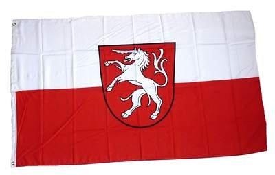Fahne / Flagge Schwäbisch Gmünd NEU 90 x 150 cm Fahnen