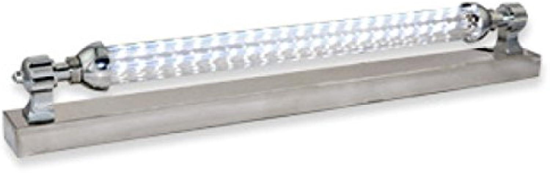 Axiba- LED-Licht LED-Spiegel Badezimmerspiegel Lichtlampe Moderne Einfachheit Edelstahl Bad Toilette,7W55CM