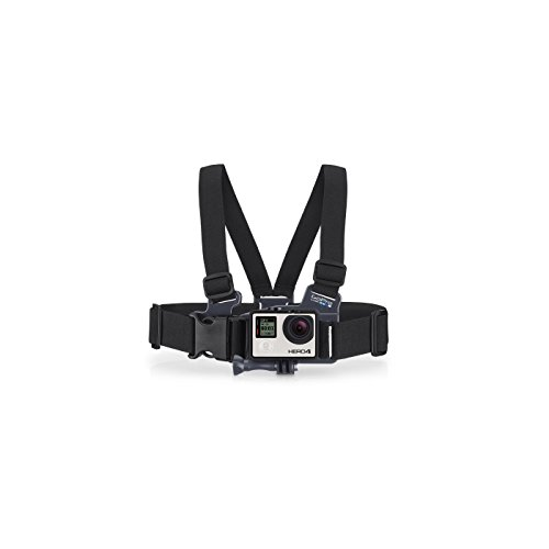GoPro Jr. Chesty - Pack de Accesorios para cámaras Digitales GoPro Hero, Negro