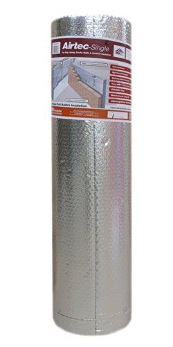 Airtec Single Luftpolsterfolie, mehrlagig, 1050mmx25mx3,7mm