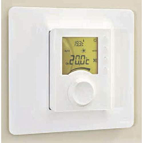 Delta dore 6050566 - Embellecedor mural para termostato