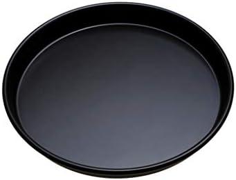 Plat fou de Jia He Plateau de cuisson, 6 pouces 8 pouces 9 pouces antiadhésif Pizza Plat dur Film ronde de cuisson Plateau profond 9 pouces plat PIZZA ## (Size : D)