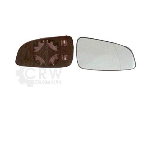 Außenspiegelglas rechts für Astra H 01.04- konvex beheizbar Spiegelglas