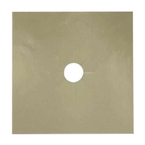 Vtops Ofen-Schutzmatte, leicht zu reinigen, 1 / 2 / 4 Stück, beige, 4 PCS